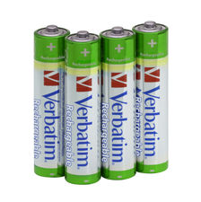 Verbatim AAA Premium Rechargeable Batteries