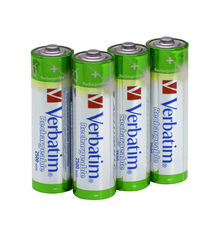 Verbatim AA Premium Rechargeable Batteries