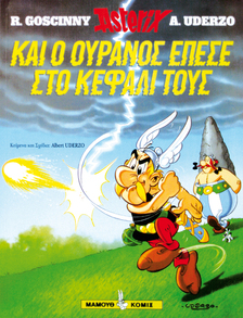 Asterix and the sky fell on their head