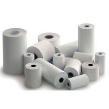 Thermal 28x70 paper tape, in box of 60 pieces. Suitable for cash machines.