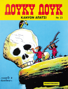 Comics Lucky Luke - Apache Canyon