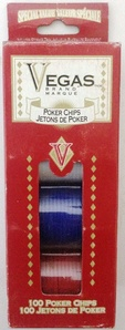 Poker chips 100pcs Vegas