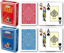 Modiano texas poker  playing cards plastic