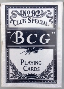 "Playing cards ""BCG"" Νο92 blue"