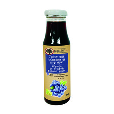 BLUEBERRY  NATURAL  JUICE WITH GRAPE 250ML