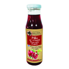 POMEGRANATE  NATURAL  JUICE WITH GRAPE 250ML
