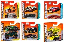 Matchbox metal cars