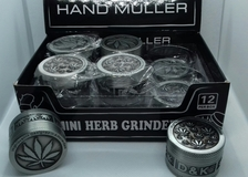 HERB METALLIC GRINDER CANNABI