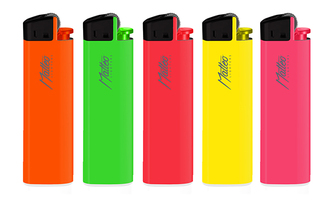 Lighter Matteo Flint Neon Maxi