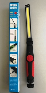 Led flashlight, heavy duty, multifunctional!