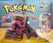 MAGNETIC EXTREME METAL TAGS POKEMON 2020
